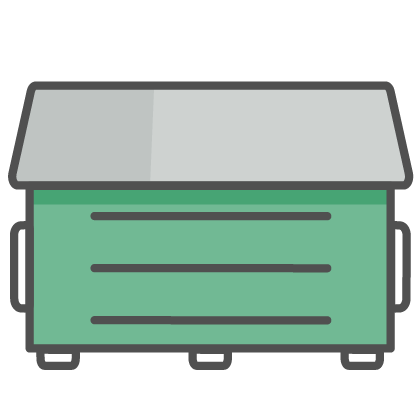 Our dumpster rental cover all types of bins to satisfy your garbage collection needs